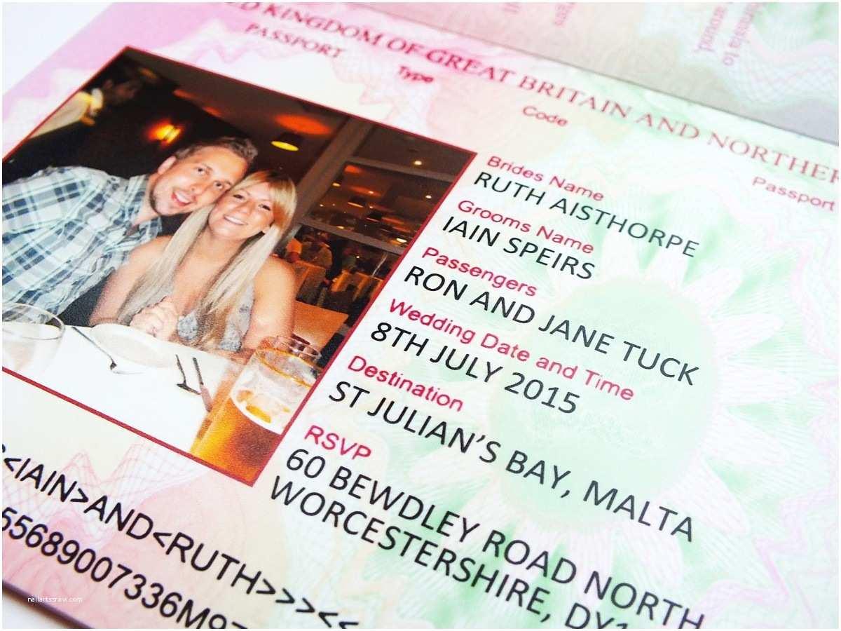Passport Wedding Invitations Cheap Uk Passport Wedding Invitations