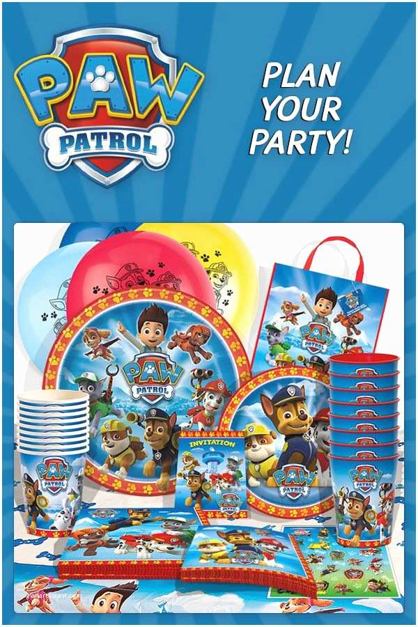 Paw Patrol Invitations Party City 25 Best Ideas About Paw Patrol Party Supplies On
