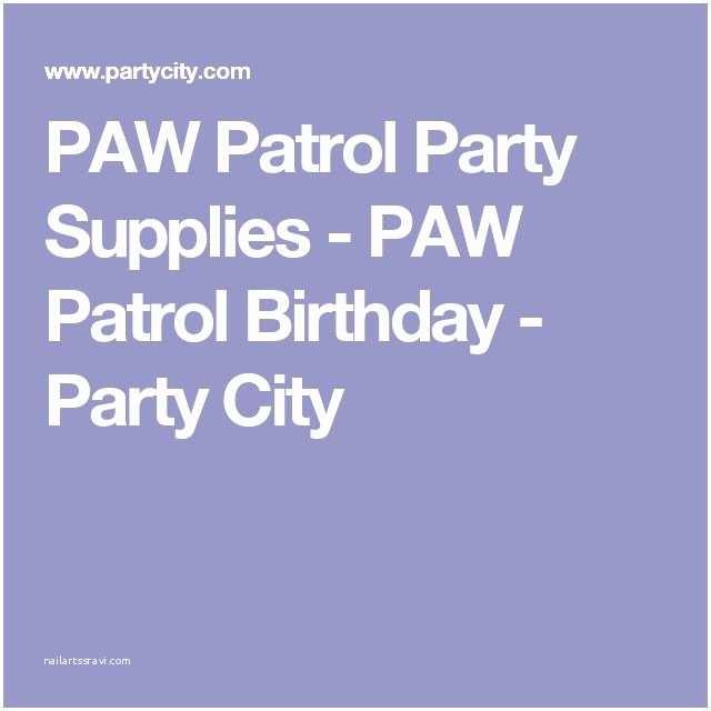 Paw Patrol Invitations Party City Más De 25 Ideas Increbles Sobre Party City Paw Patrol