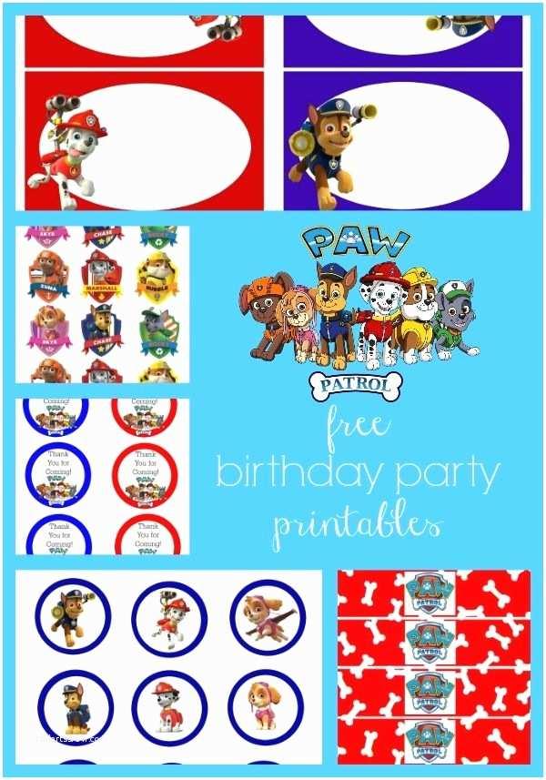Paw Patrol Invitations Party City Paw Patrol Free Birthday Party