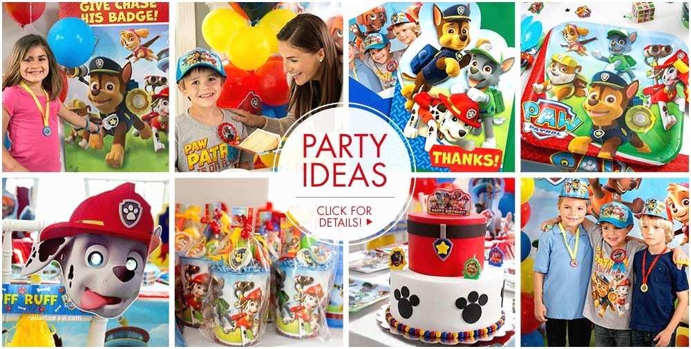 Paw Patrol Invitations Party City Paw Patrol Party Supplies Paw Patrol Birthday Party City