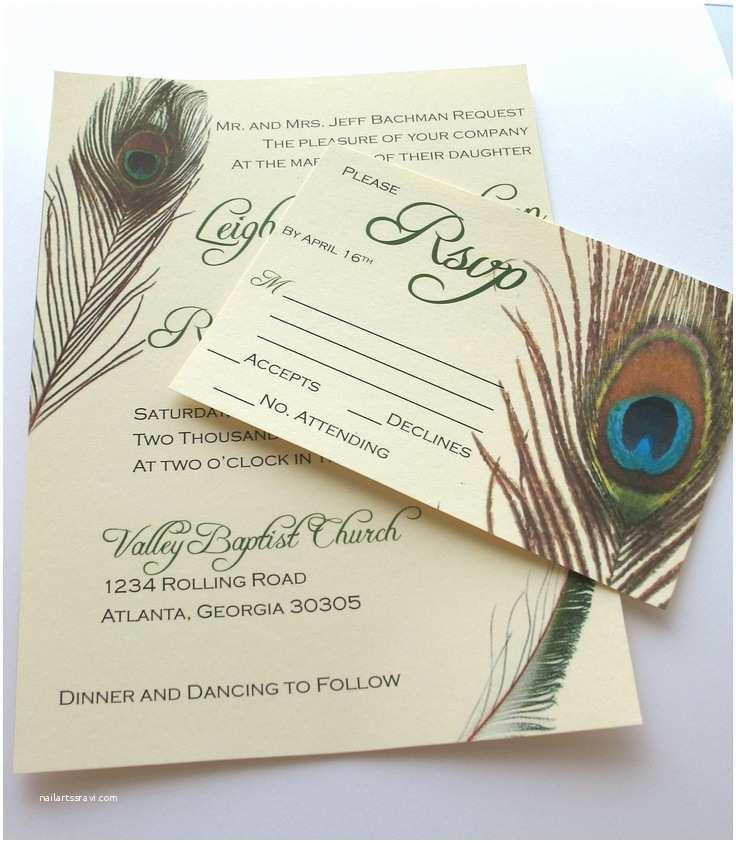 Peacock Wedding Invitation Sets 16 Best Peacock Wedding Images On Pinterest