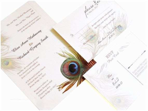 Peacock Wedding Invitation Sets 63 Best Wedding Paper Things Images On Pinterest