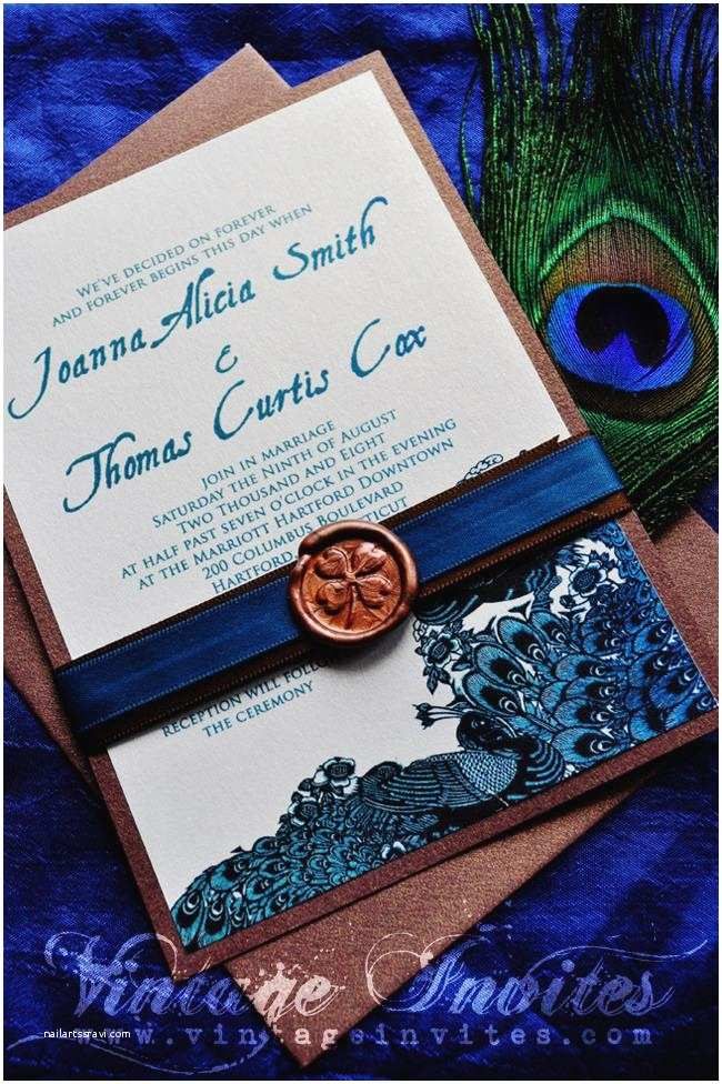 Peacock Wedding Invitations Cheap Designs Peacock Invitations Weddingbee to Her with Cheap