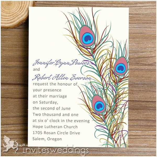 Peacock Wedding Invitations Cheap Peacock Wedding Invitations Cheap Invites at