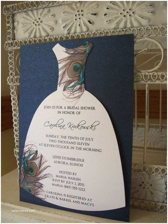 Peacock Wedding Shower Invitations 25 Best Ideas About Teal Bridal Showers On Pinterest