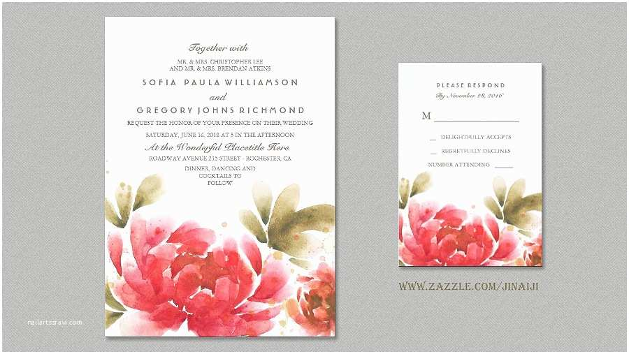 Peony Wedding Invitation Read More – Peony Wedding Invitations