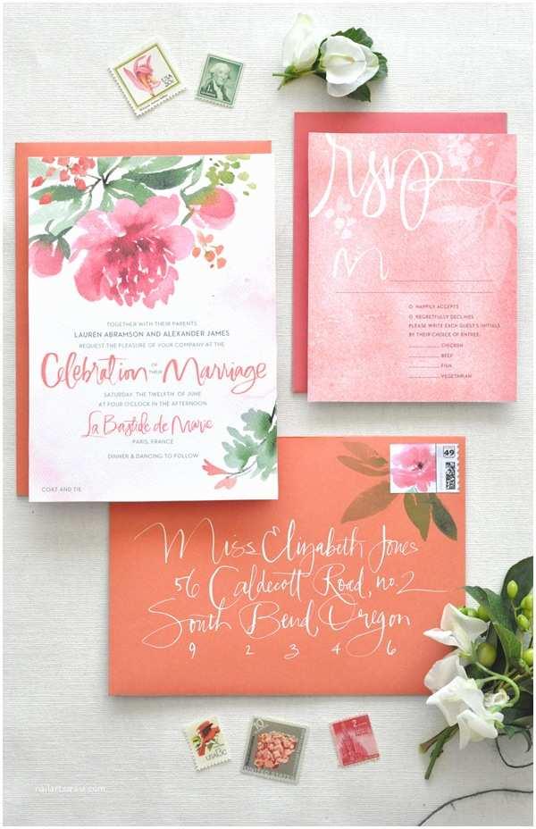 Peony Wedding Invitations Peony Wedding Feature Image