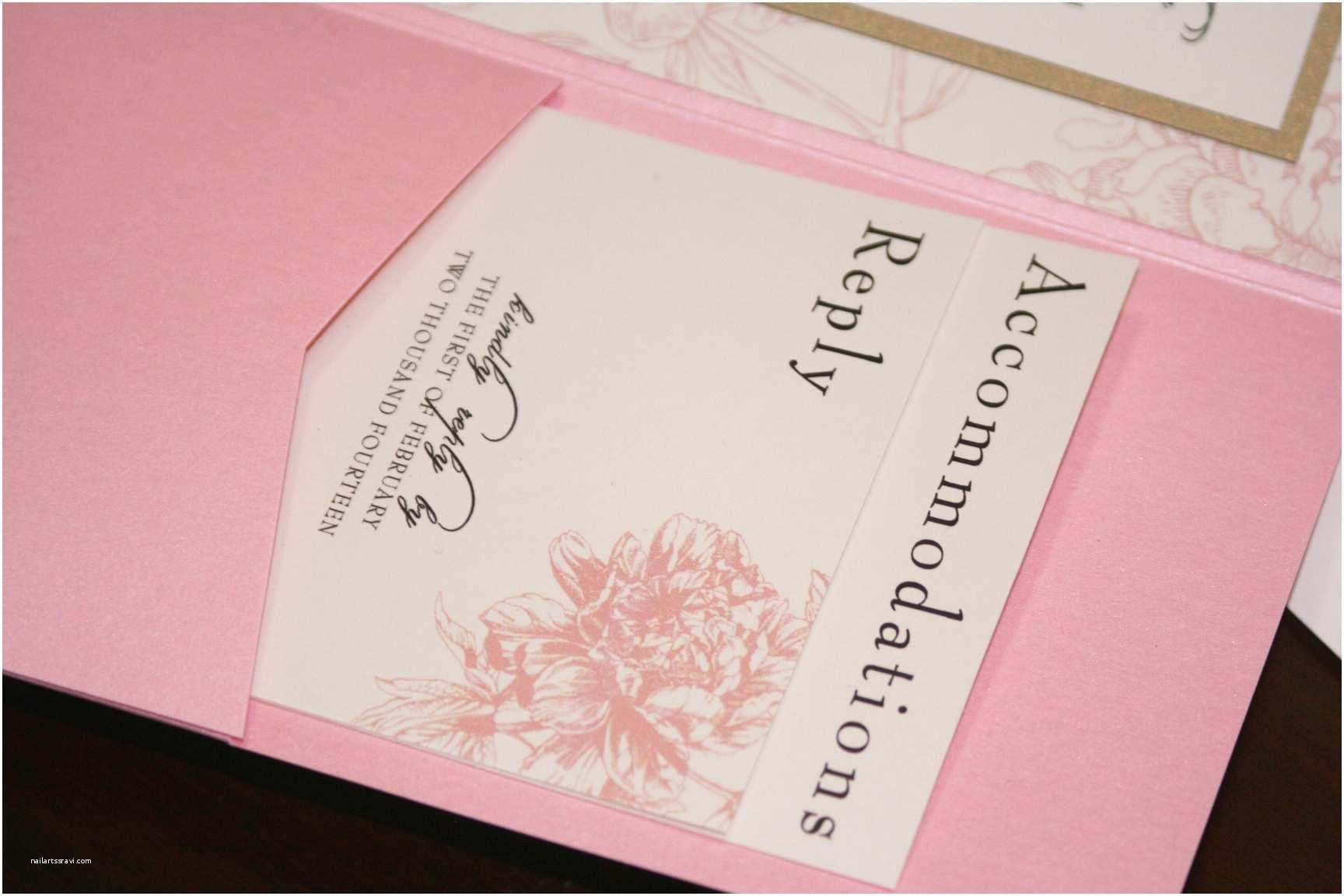 Peony Wedding Invitations Pink Peony Wedding Invitations too Chic & Little Shab