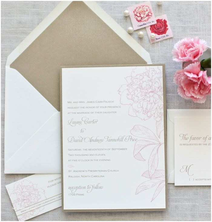 Peony Wedding Invitations Pinterest Discover and Save Creative Ideas
