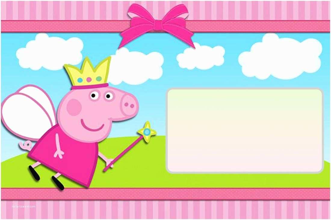 Peppa Pig Party Invitations Peppa Pig Invitation Peppa Pig Birthday