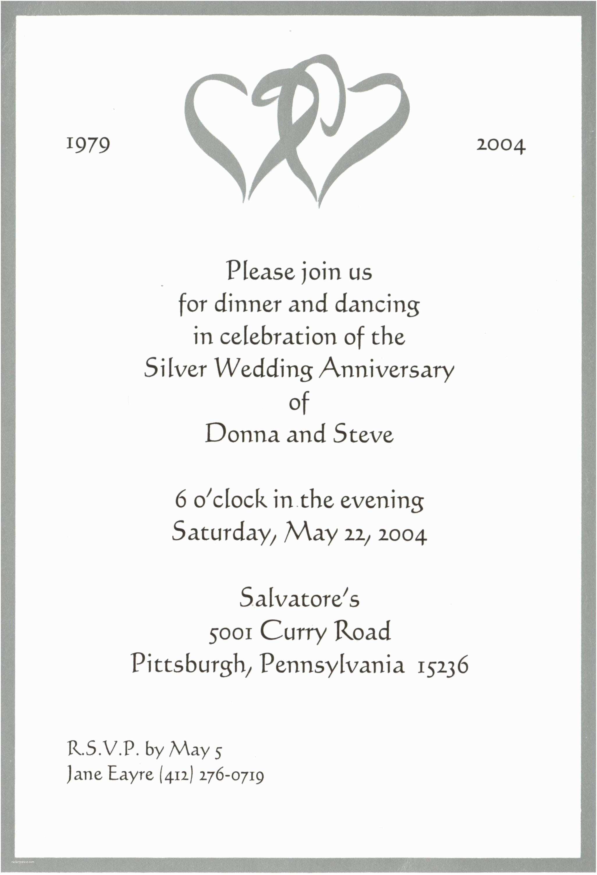 Personal Wedding Invitation Personal Wedding Invitation