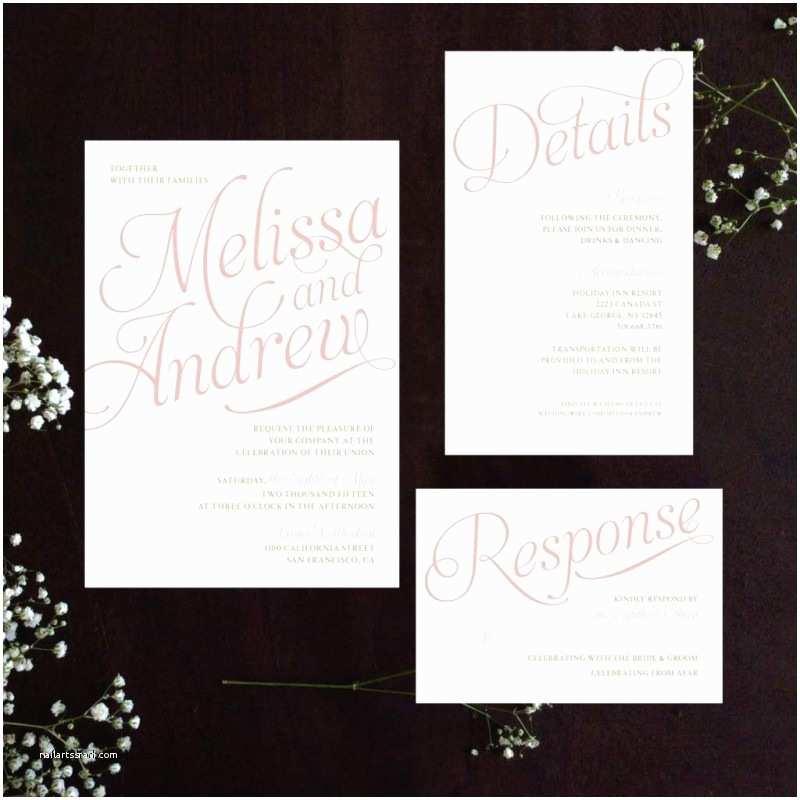 Personal Wedding Invitation Wedding Invitation Beautiful Personal Wedding Invitation