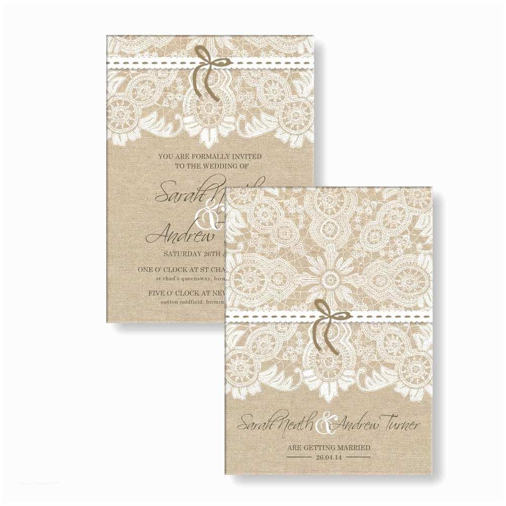 Personalised Wedding Invitations Personalised Wedding Day evening Invitations Invites