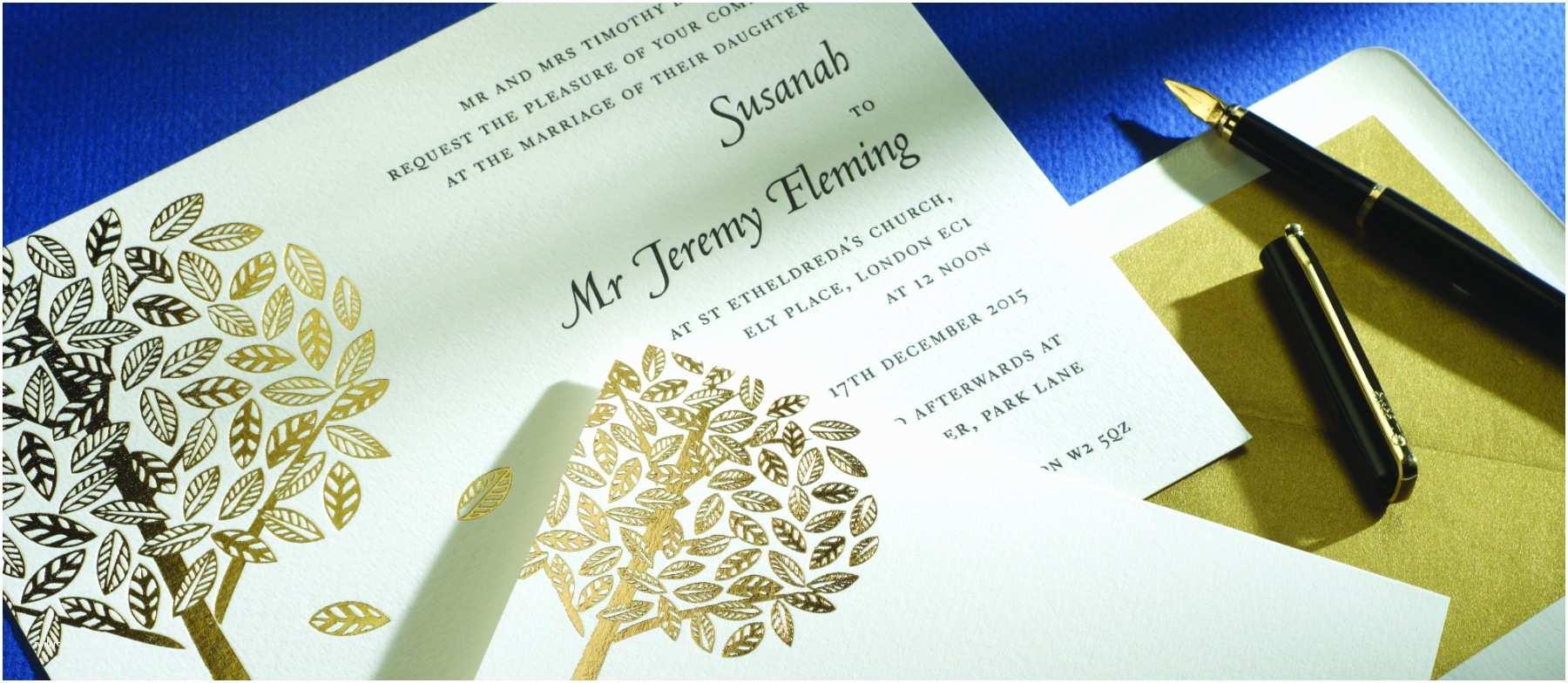 Personalised Wedding Invitations Uk Arden Personalised Wedding Invitations
