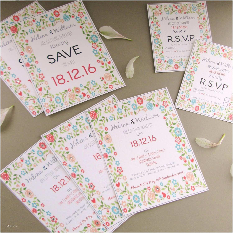 Personalised Wedding Invitations Uk Personalised Wedding Invitations & R S V P S