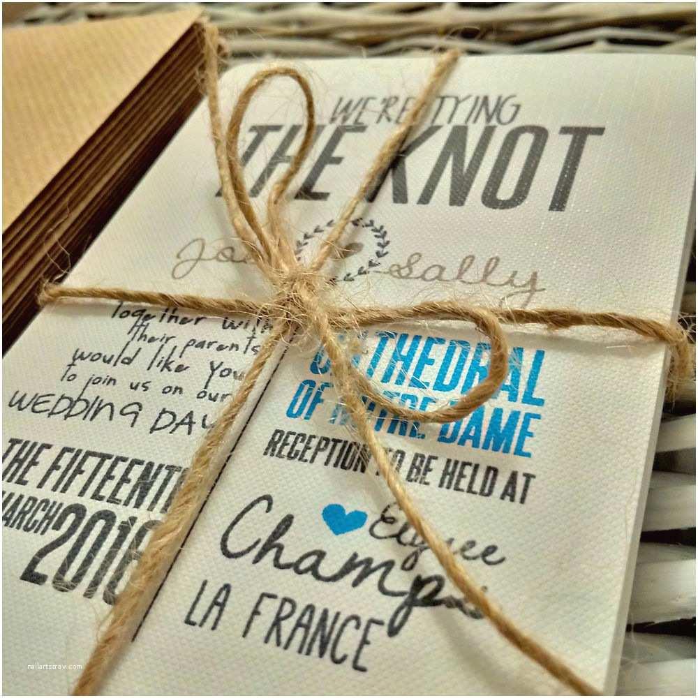 Personalised Wedding Invitations Uk Personalised Wedding Invitations Handmade Rustic Vintage
