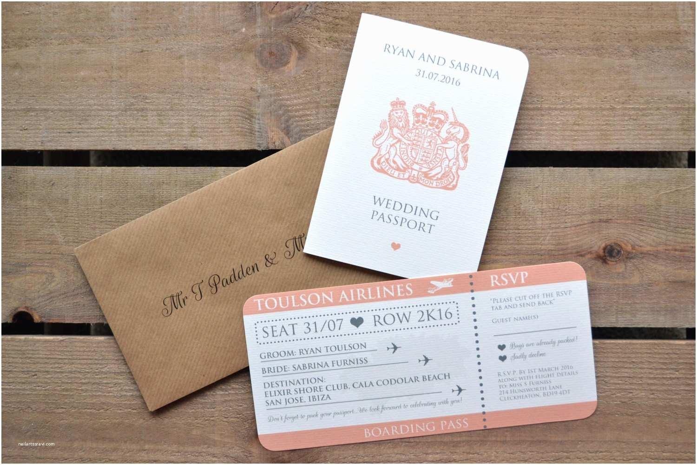 Personalised Wedding Invitations Uk Wedding Invitation Personalised Destination Wedding