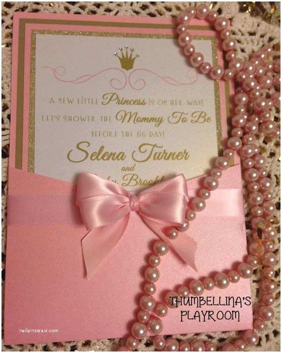 Personalized Baby Shower Invitations 39 Best Princess Baby Shower Ideas Images On Pinterest