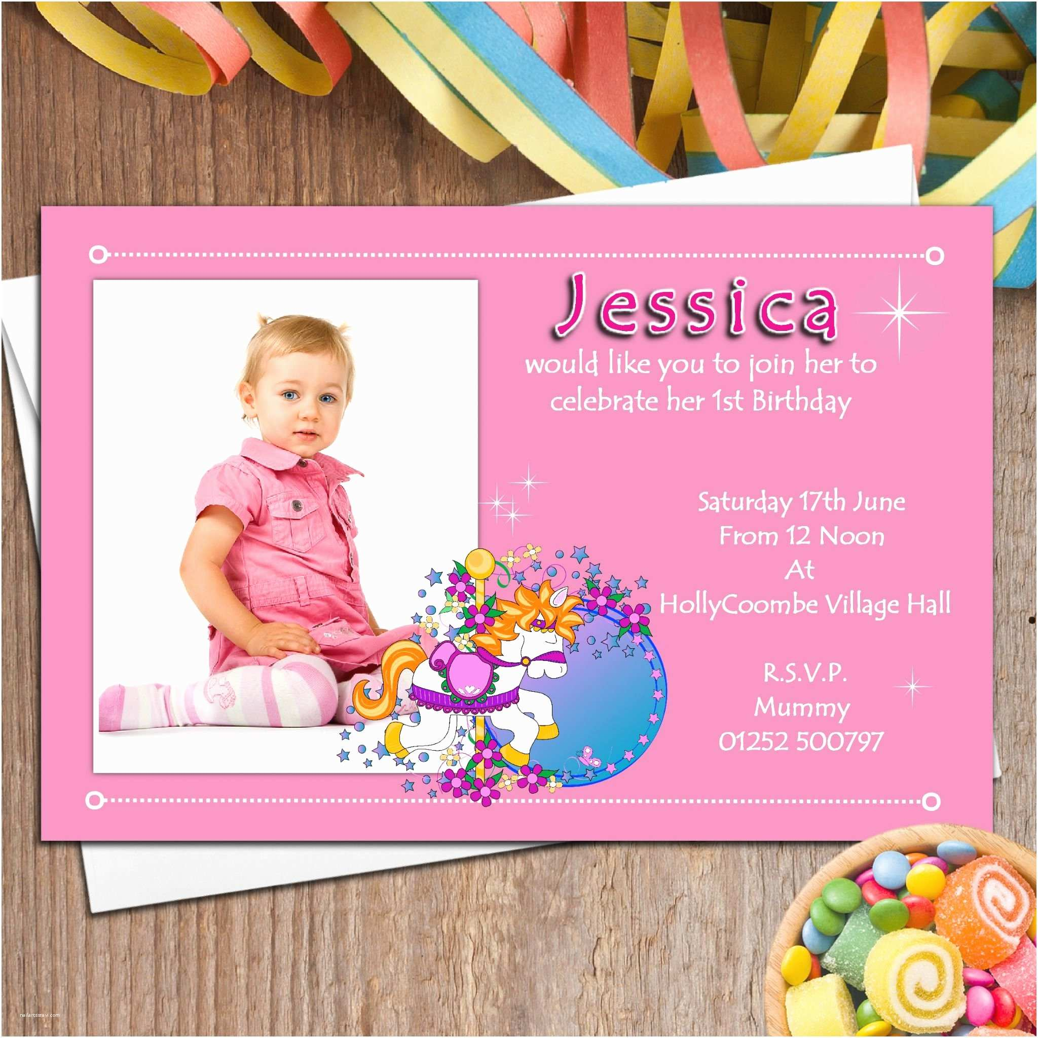 Personalized Birthday Invitations Birthday Cards Near Me – Gangcraft