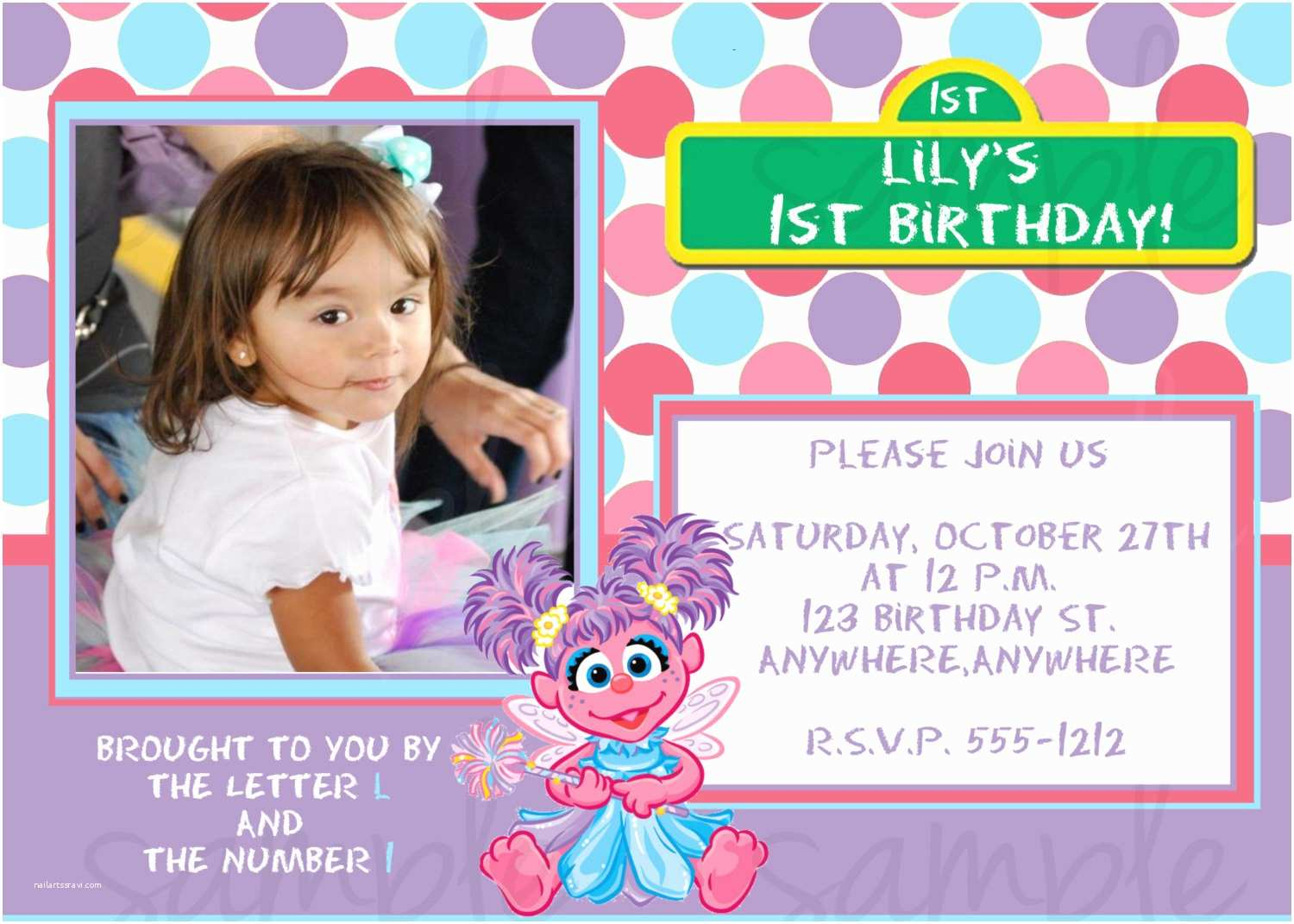 Personalized Birthday Invitations Elmo Birthday Invitations Kids Can't Wait to E
