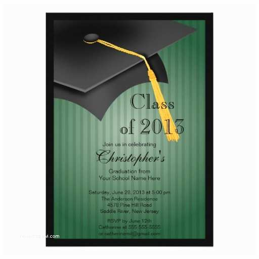 Personalized Graduation Invitations 8 000 Class 2013 Invitations Class 2013