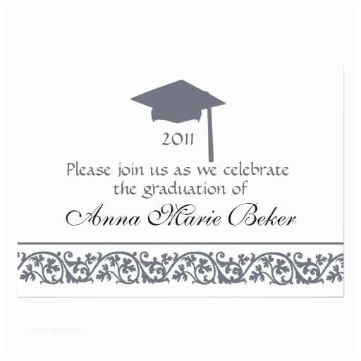 Personalized Graduation Invitations Graduation Celebration Personalized Announcements