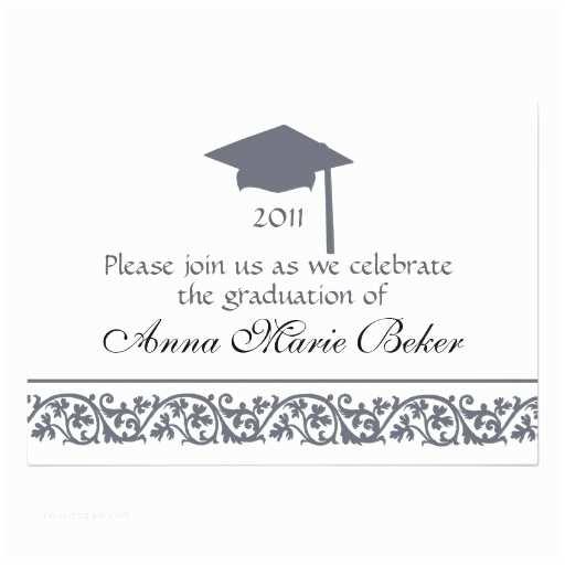 Personalized Graduation Invitations Graduation Celebration Personalized Announcements