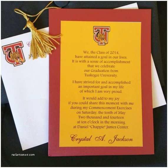 Personalized Graduation Invitations Personalized Graduation Invitations with Envelopes