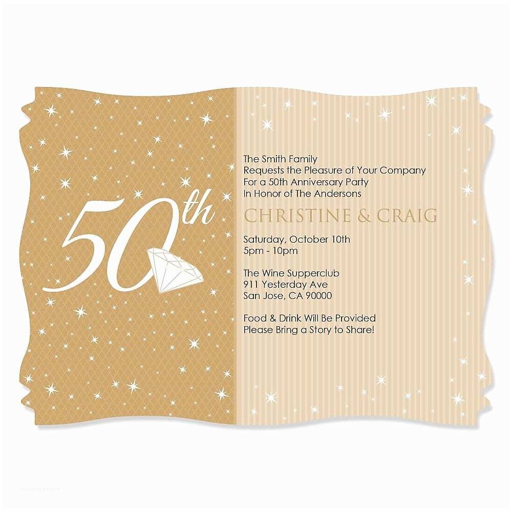 Personalized Party Invitations Anniversary Invitations Personalized Anniversary