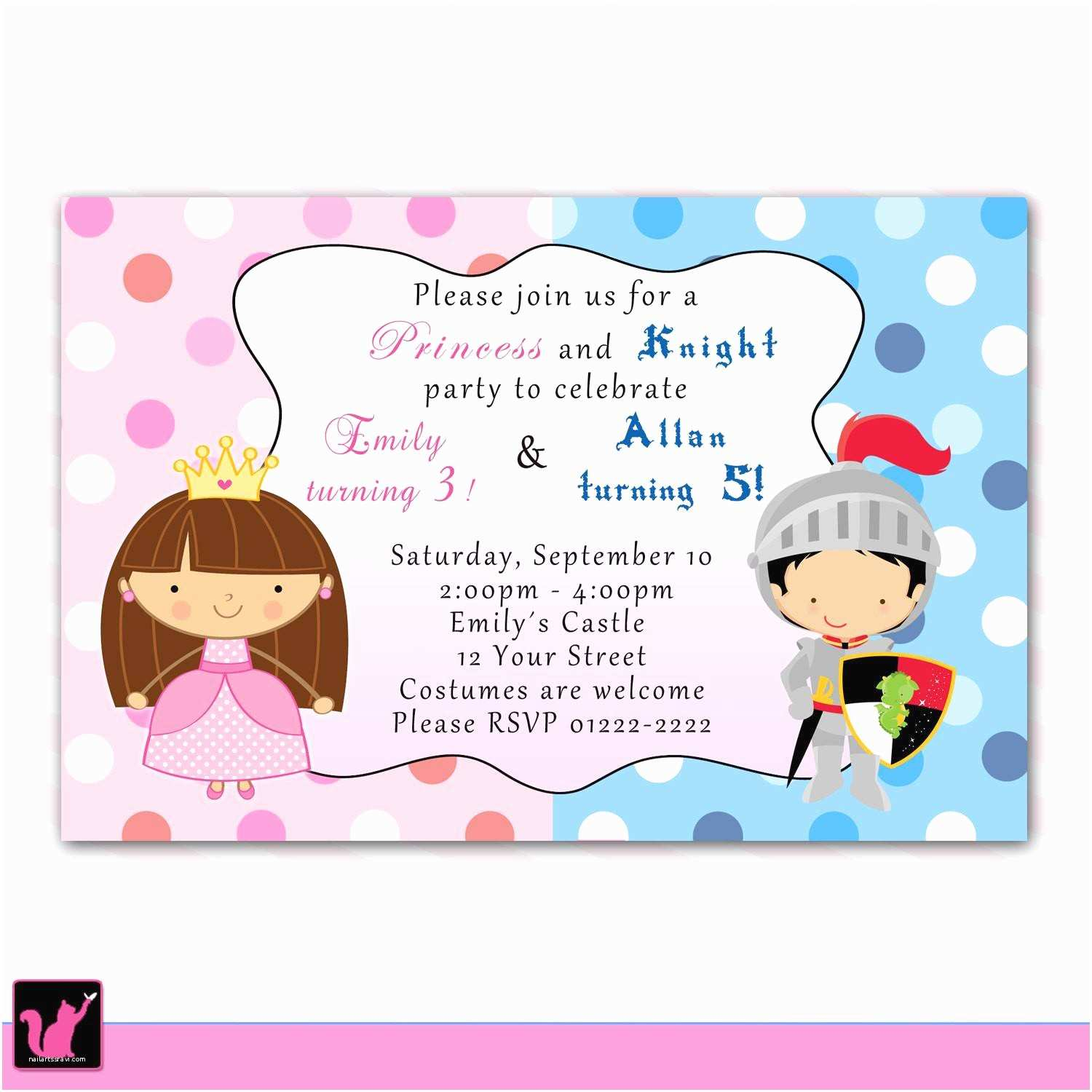 Personalized Party Invitations Personalized Party Invites