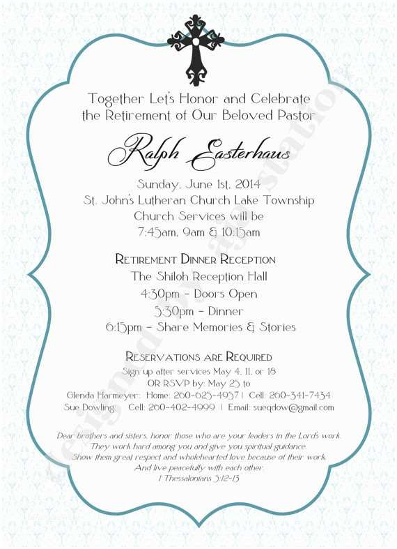 Personalized Party Invitations Retirement Party Invitation Blue Personalized Uprint