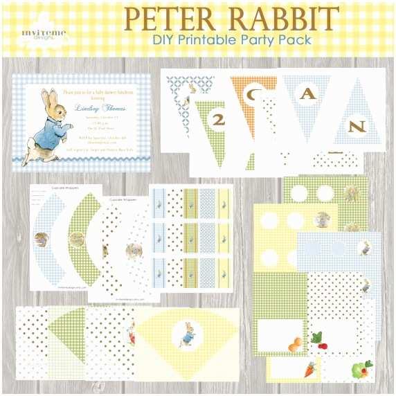 Peter Rabbit Baby Shower Invitations Peter Rabbit Baby Bedding Image