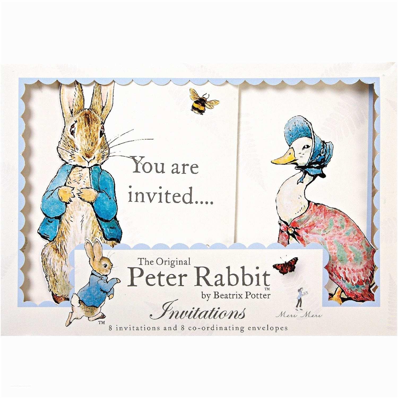 Peter Rabbit Baby Shower Invitations Peter Rabbit Baby Shower Invitations