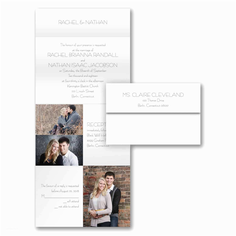 Photo Collage Wedding Invitations Wedding Invitation Collage Romeondinez