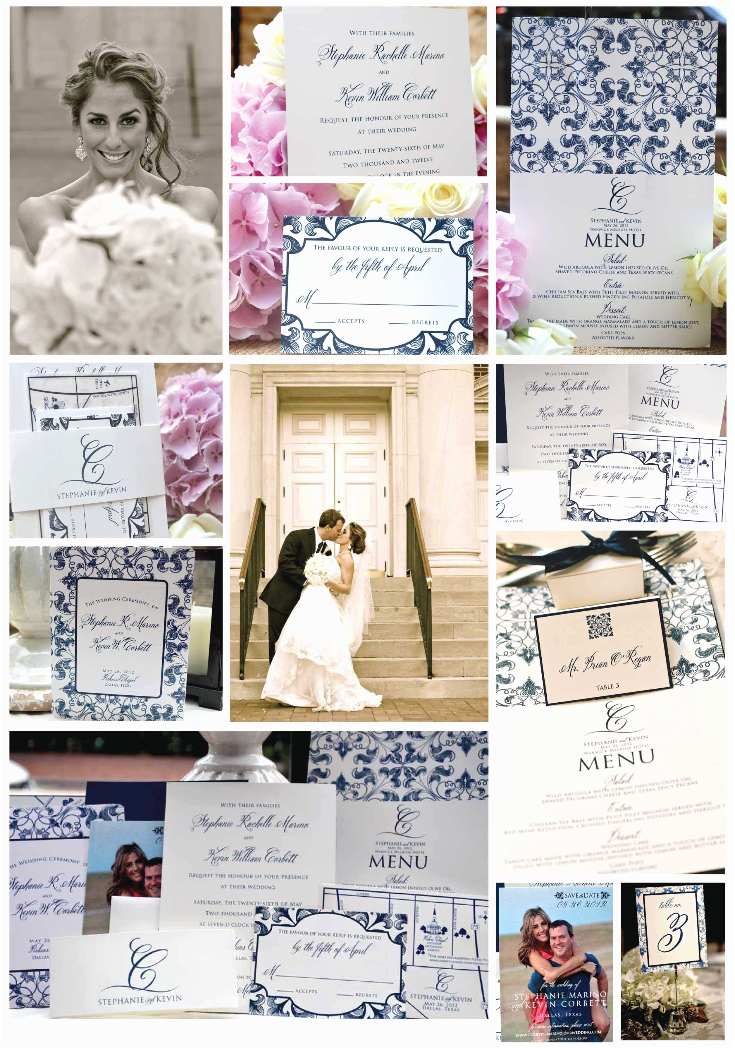 Photo Collage Wedding Invitations Wedding Invitations