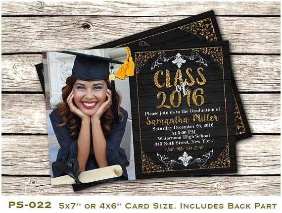 Photo Graduation Invitations 10 Best Ideas About High School Graduation Invitations On
