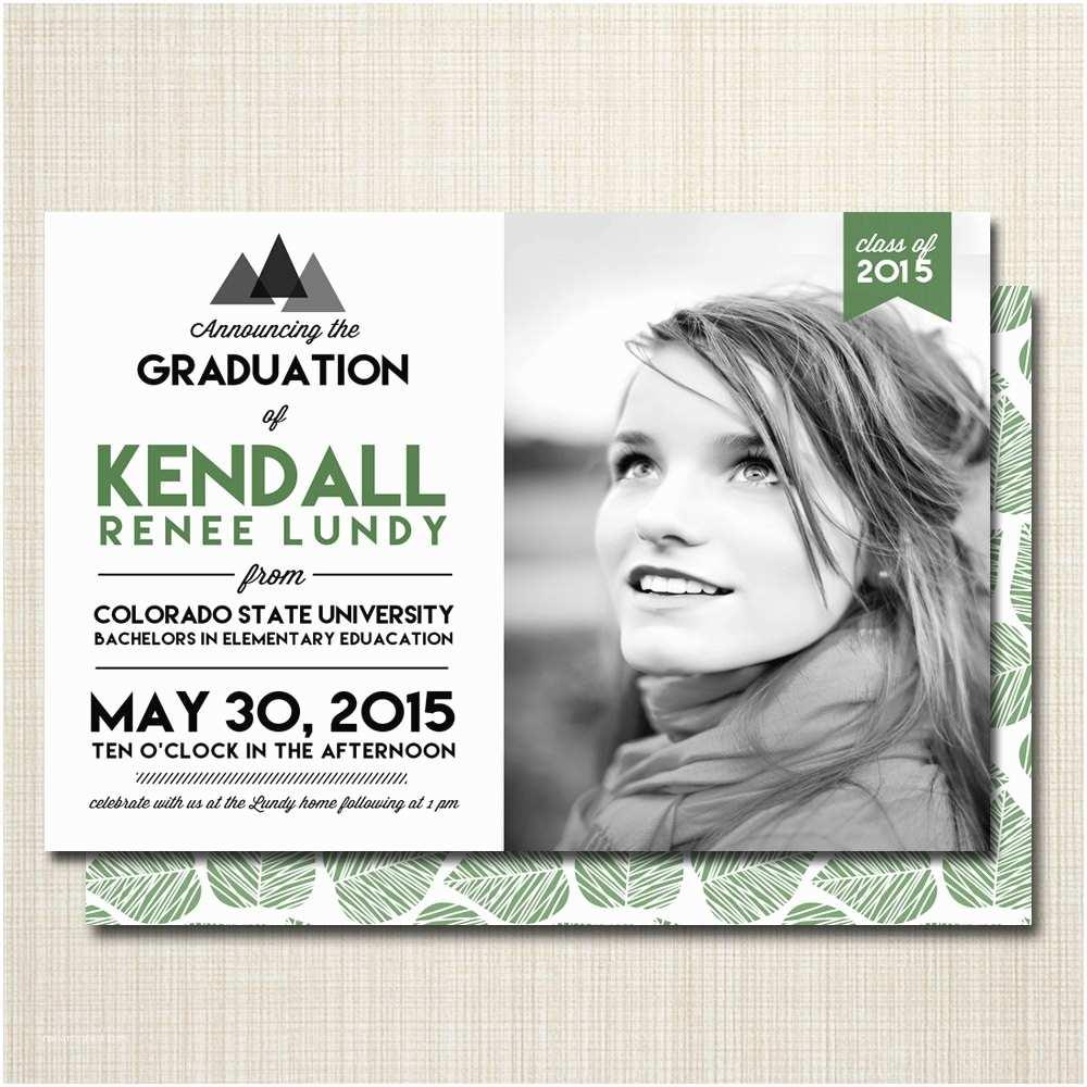 Photo Graduation Invitations College Graduation Invitations