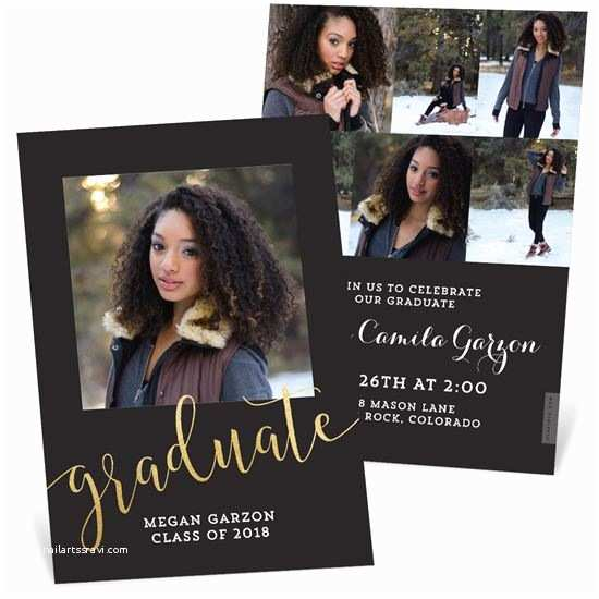 Photo Graduation Invitations Graduation Announcements Custom Designs From Pear Tree