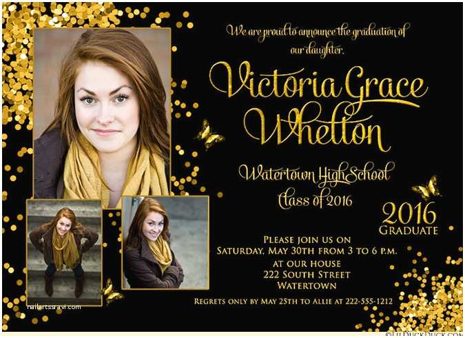 Photo Graduation Invitations Graduation Invitations – Gangcraft