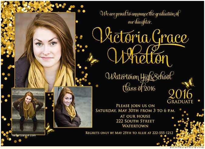 Photo Graduation Invitations Graduation Invitations – Gangcraft