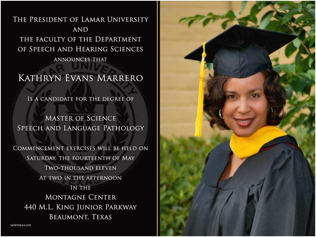 Photo Graduation Invitations Invitation Graduation Templates
