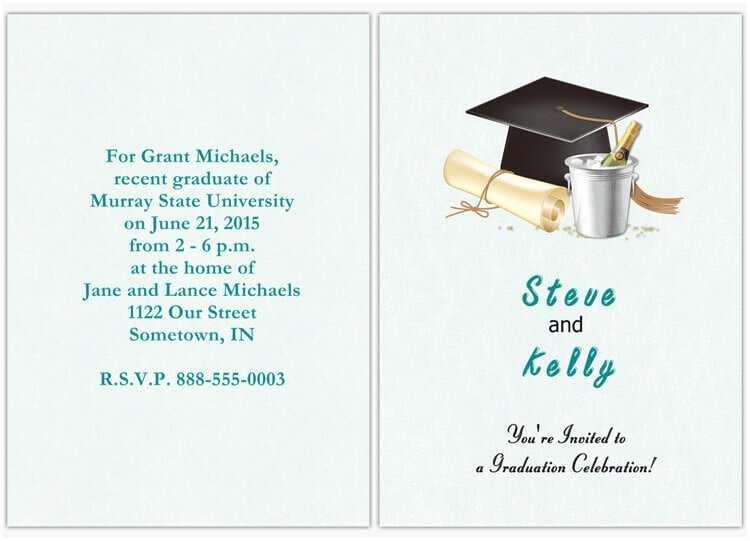 Photo Graduation Party Invitations Design Your Own Graduation Party Invitations
