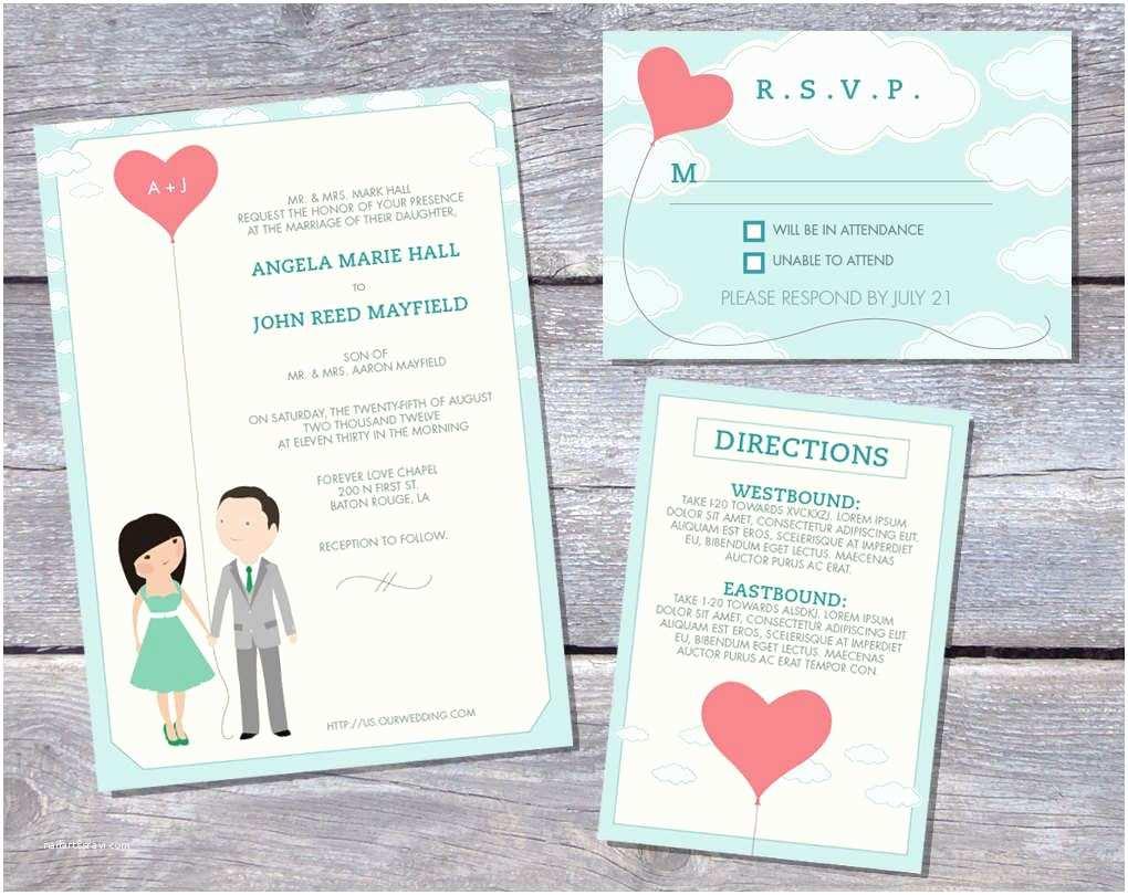 Picture Wedding Invitations Wedding Invitation Printable Wedding Invitation