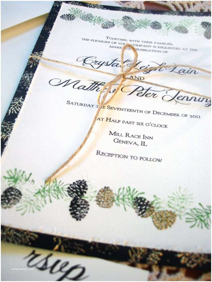 Pine Wedding Invitations Best 25 Pine Cone Wedding Ideas On