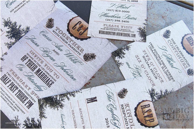 Pine Wedding S Rustic Burlap Wood And Pine Cones Winter Wedding
