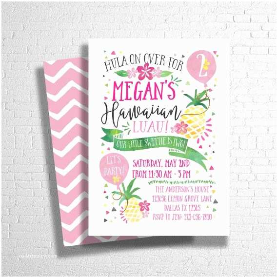 Pineapple Party Invitations 25 Best Ideas About Luau Birthday Invitations On