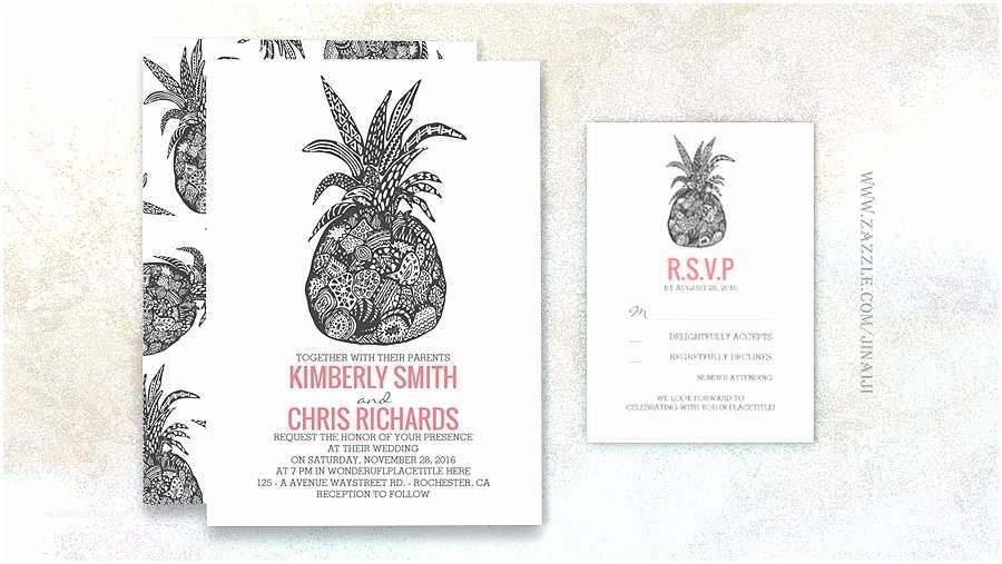 Pineapple Wedding Invitations Read More – Pineapple Beach Wedding Invitations