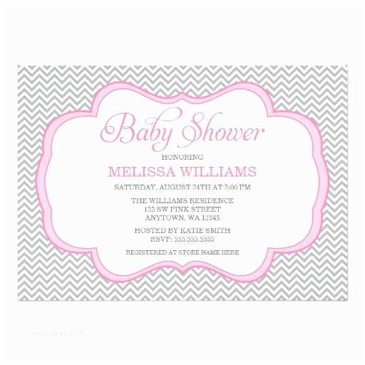 Pink and Gray Baby Shower Invitations 1 000 Pink Gray Baby Shower Invitations Pink Gray Baby