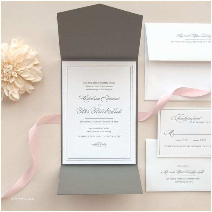 Pink and Gray Wedding Invitations 25 Best Ideas About Grey Wedding Invitations On Pinterest